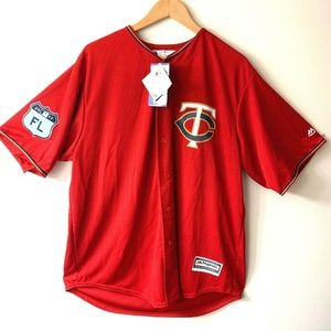 detailed look fd19a e7c0c Minnesota Twins Miguel Sano Spring Jersey - XL NWT